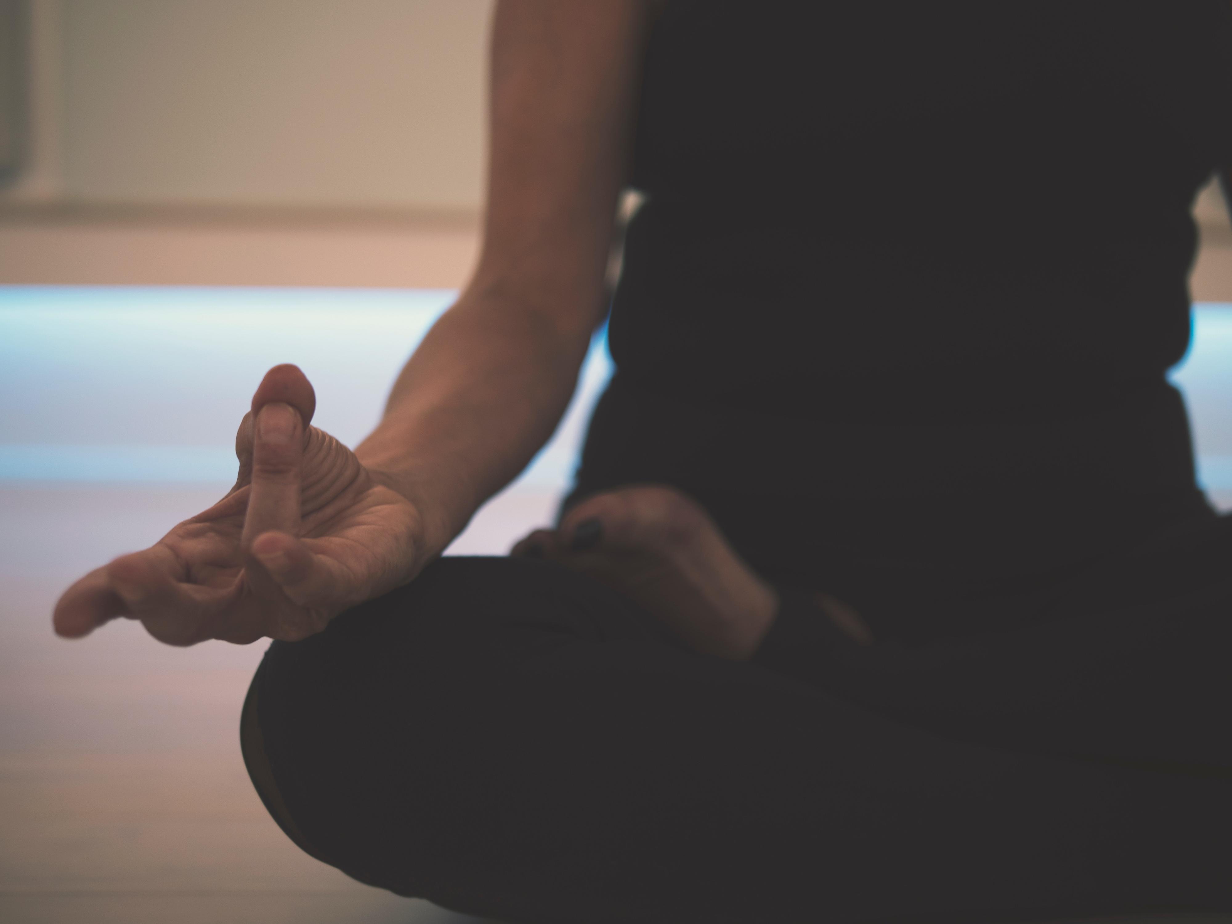 Lotoso poza meditacijai