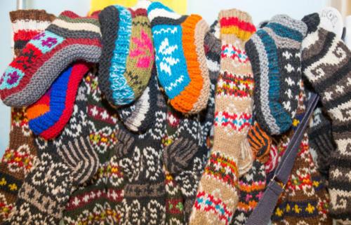 Tibetan socks